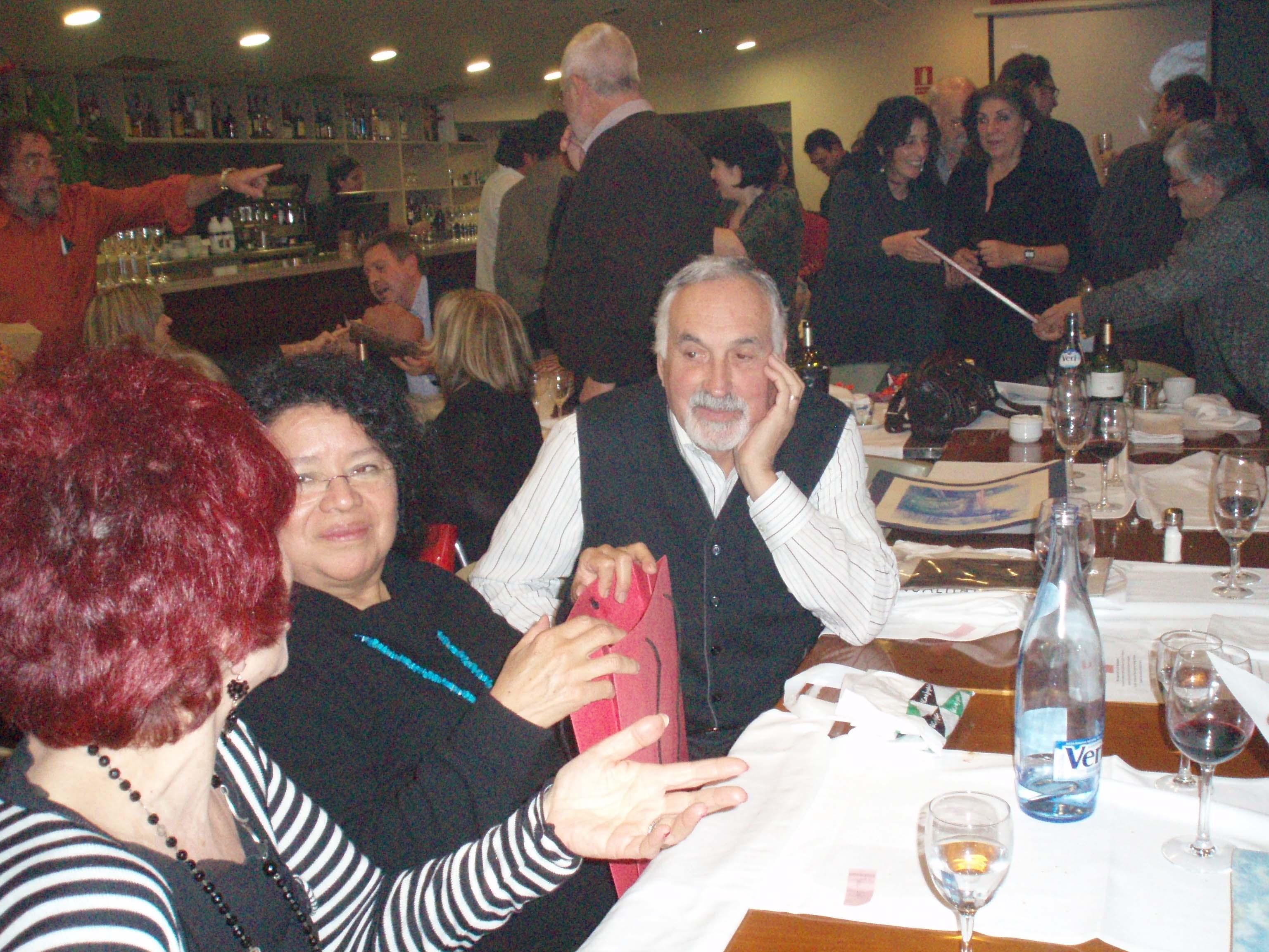 Sopar del Grup d'Artistes Plàstics dels Amics